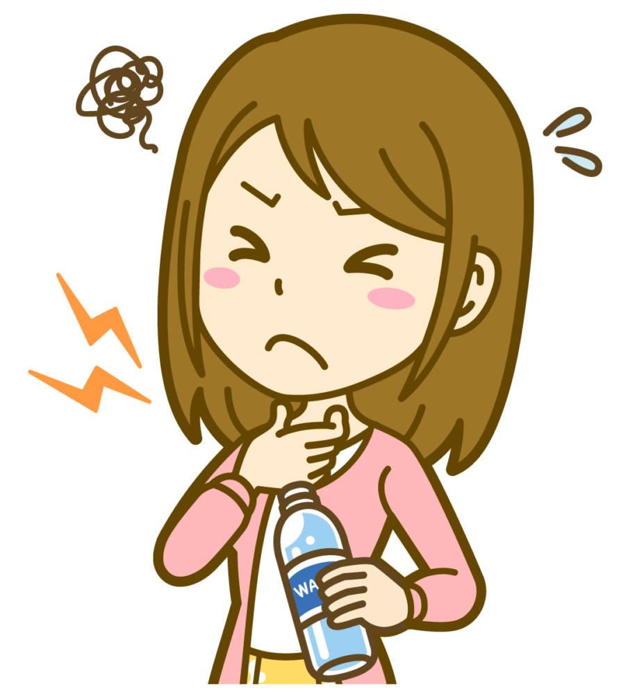 喉 が チクチク 痛い